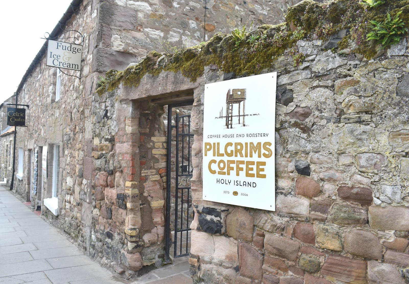 Holy Island of Lindisfarne - Pilgrims Coffee