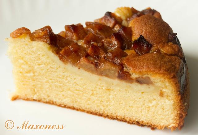 Яблочный пирог с корицей. Скандинавская кухня