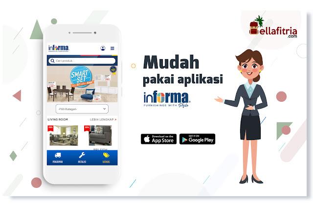 Kemudahan belanja dengan Aplikasi Informa