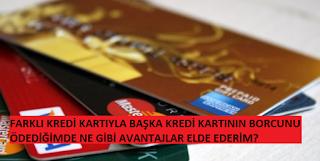 kredi kartı ile kredi kartı borcu nasıl ödenir