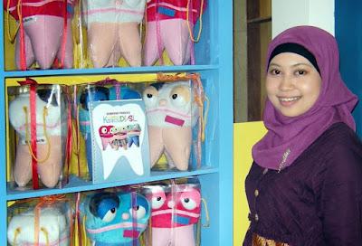 Kisah sukses Anggi Hayani owner Bisnis Boneka Gigi