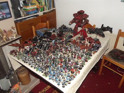 Whats On Your Table 23000pts Of Chaos Faeit 212 Warhammer 40k