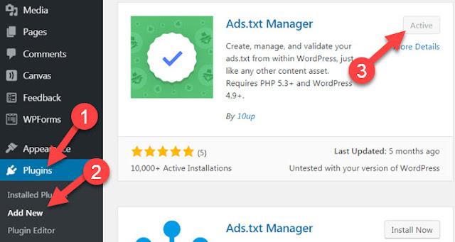 ads.txt file issue fix wordpress