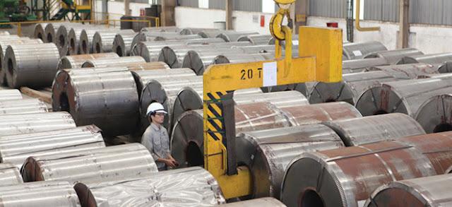 Việt Nam dựa vào nhập khẩu để đáp ứng nhu cầu thép cuộn cán nóng