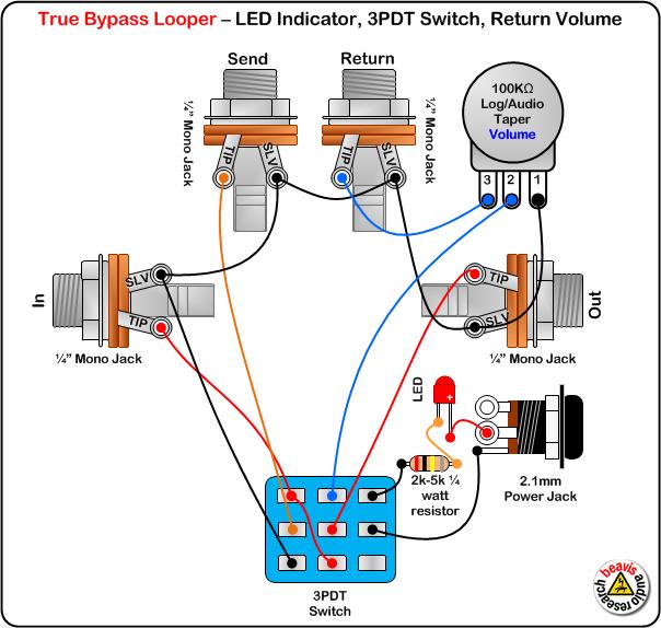loop wiring diagram dpdt