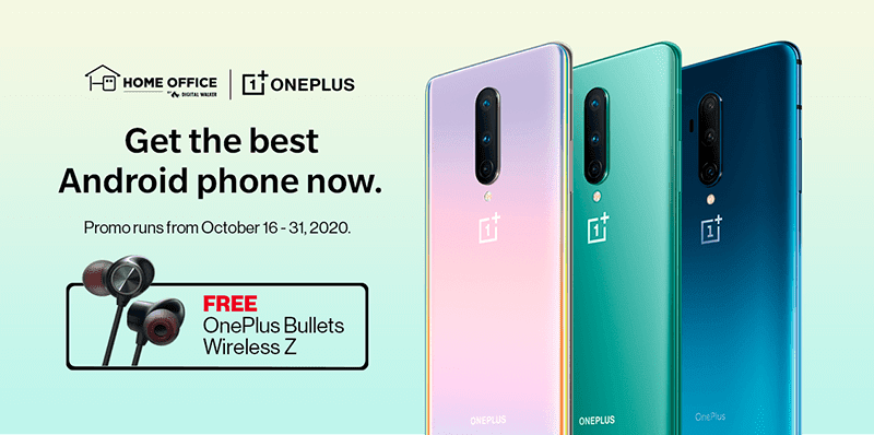 Deal: Digital Walker offers PHP 5K off, free gadger with purchases of OnePlus 7T Pro or OnePlus 8