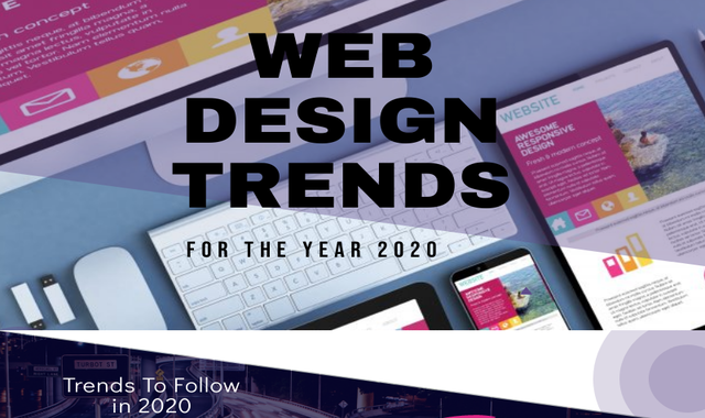 Web Design Trends For The Year 2020
