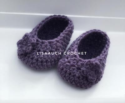 booties crochet pattern free