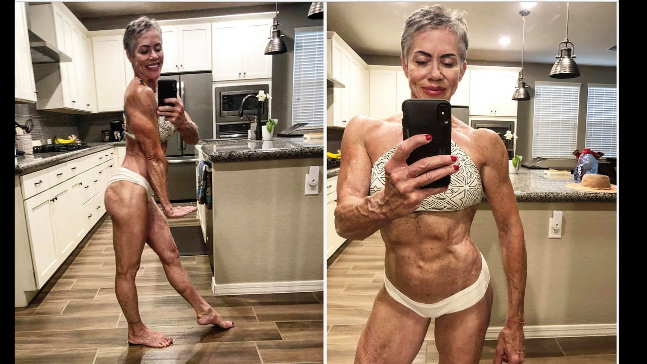 I'm 58 and, Female Bodybuilding