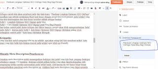 Panduan Lengkap Optimasi SEO OnPage Pada Blog Bagi Pemula