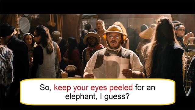 Arti Keep Your Eyes Peeled