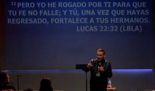 Fortalece a tus hermanos, Juan Carlos Parra,