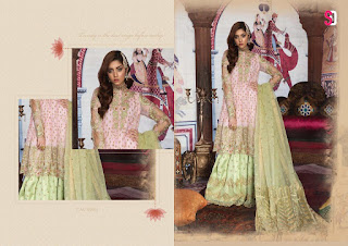 Shraddha Designer honey Waqar vol 6 pakistani Suits