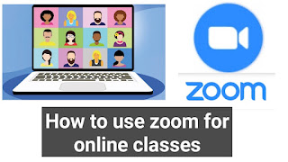 How to use zoom for online classes