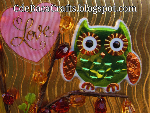 Cute Owl Handmade Cards and Ideas for Inspiration by CdeBaca Crafts Blogger.