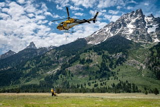 Multiple Search and Rescue Incidents in Grand Teton