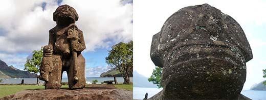 Nuku%2BHiva%2BMarquesas%2Btikis%2B - Pueden representar estas estatuas a extraterrestres?