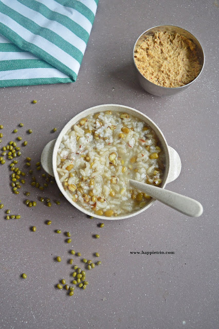 Green Gram Porridge | Pachai Payar Kanji | Green Moong Dal Porridge