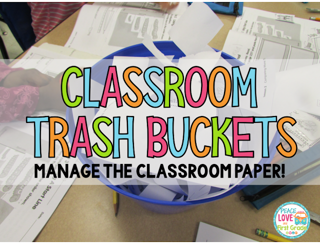 Manage the classroom trash