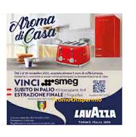 "Concorso Lavazza ""Aroma di casa"" : da Lidl vinci 40 tostapane e 2 frigoriferi Smeg"