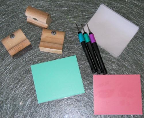 Materiales para carvado de sellos