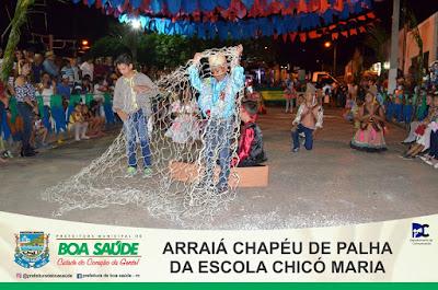 Chicó Maria realizou uma grande festa junina em praça pública