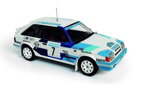 WRC collection 1:24 salvat españa, Mazda 323 4 WD 1:24