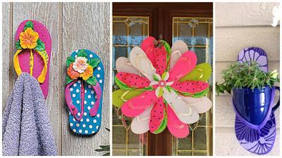 decoración-con-sandalias