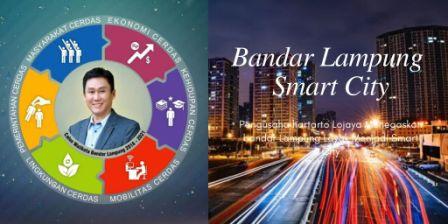 Konsep smart city bandar lampung oleh hartarto lojaya