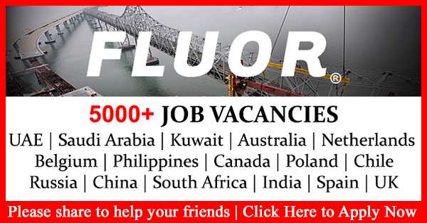 FLUOR Engineering and Constructions Job Vacancies- Australia