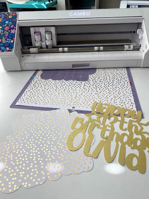 paper crafts, cake topper, cupcake topper, glitter cardstock, cardstock