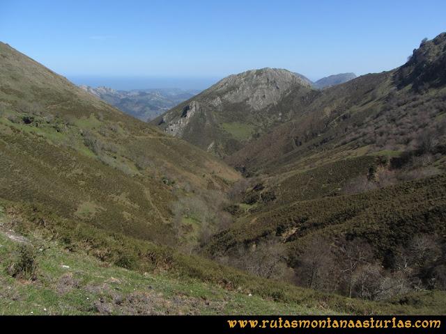 Ruta Ardisana, pico Hibeo: Valle del arroyo Orticeda