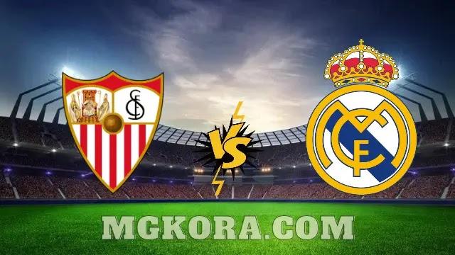 بث مباشر.. مشاهدة مباراة ريال مدريد ضد إشبيلية في الدوري الاسباني