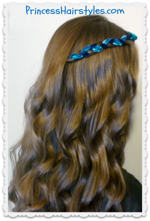 Disney\'s Descendents Hairstyle Tutorial - Evie | Hairstyles ...