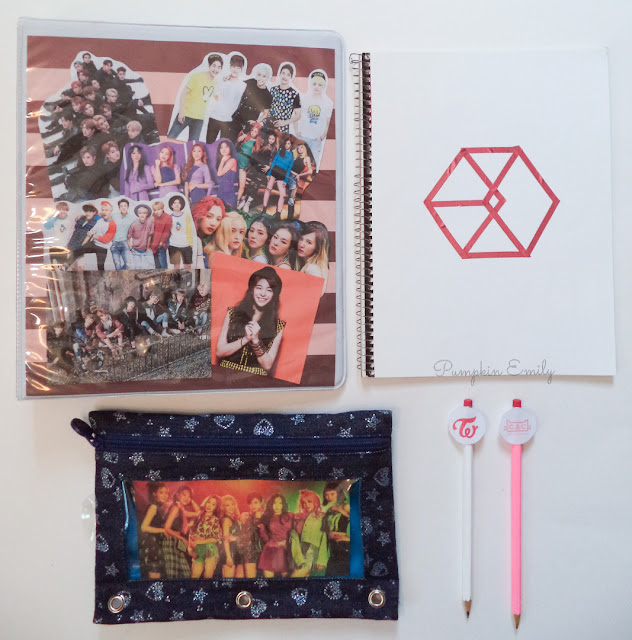 DIY Kpop School Supplies for Back To School
