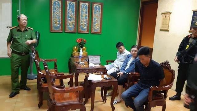 Huy động 100 cảnh sát bắt giữ nhóm đòi nợ tại bệnh viện Tâm Hồng Phước