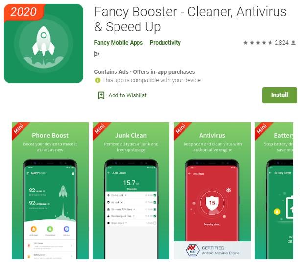 2 aplikasi pendingin hp android booster