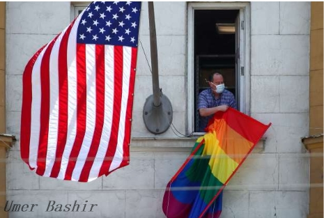 Putin examines the US embassy to hoist the rainbow flag