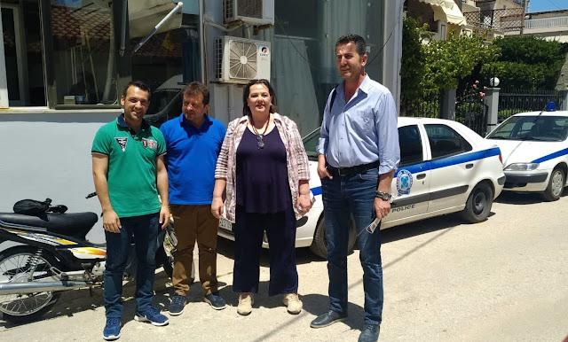 Υποψήφιοι της Δυνατής Πόλης Ξανά συναντήθηκαν με την Ένωση Αστυνομικών Αργολίδας