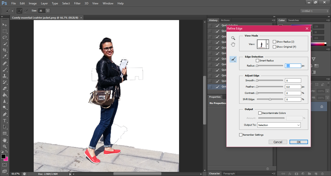 Get the blur effect for your fashion pictures without using camera