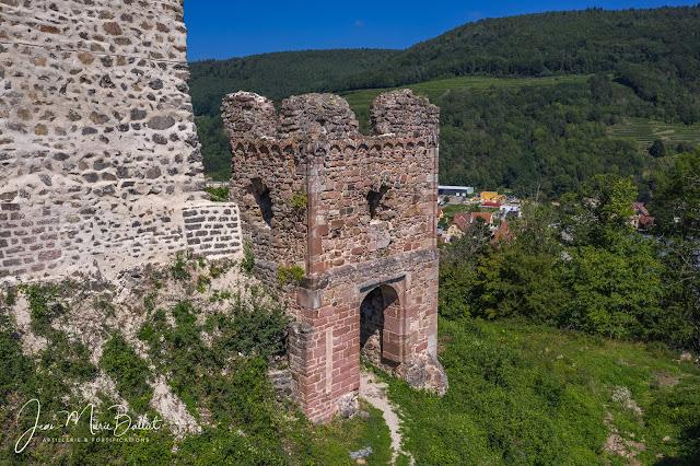 Château du Hugstein — État août 2019