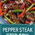 Chinese | Pepper Steak Stir Fry