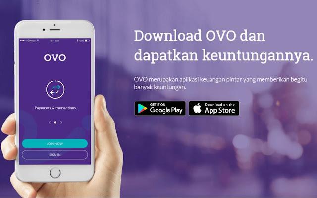 OVO merupakan sebuah layanan uang elektronik yang dikeluarkan oleh Bank National NOBU, yang dapat memudahkan anda dalam melakukan kegiatan transaksi (OVO Cash), sekaligus anda bisa mengumpulkan poin di berbagai tempat ketika berbelanja (OVO Points).