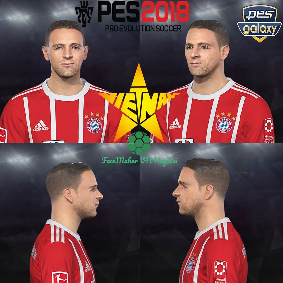 Ultigamerz Pes 2010 Pes 2011 Face: Ultigamerz: PES 2018 Rafinha (Bayern Munchen) Face 14-May-2018