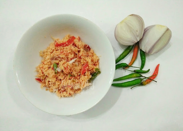 resepi sambal kelapa