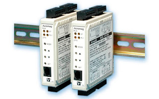 DIN rail mounted process measurement signal conditioning module