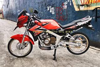 Dijual Ninja R 2014 orange  STNK BPKB FAKTUR lengkap  pajak hidup
