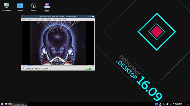 Lançada versão desktop da distribuição Netrunner, o Netrunner Desktop 16.09 Avalon!