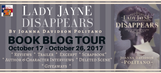 Lady Jayne Disappears Book Blog Tour and Giveaway #LoneStarLit