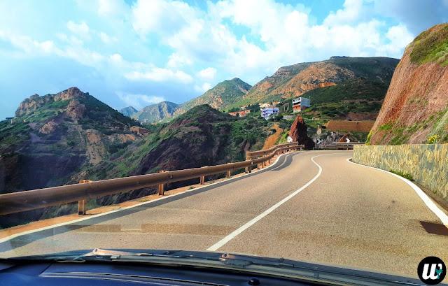 Road to Cala Domestica, Buggerru | Sardinia, Italy | wayamaya
